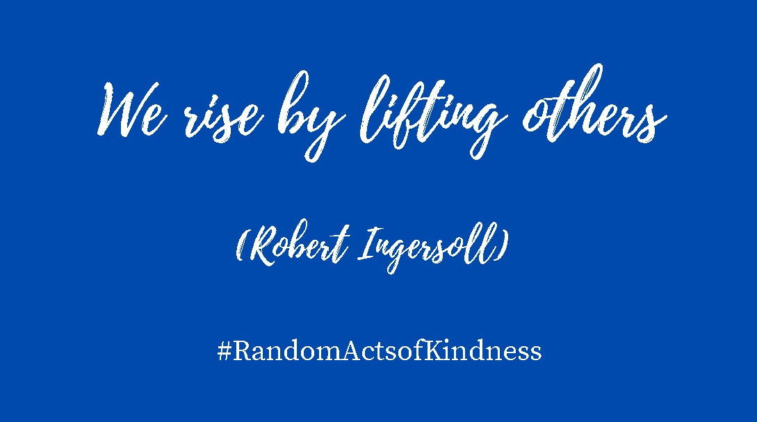 Random Acts of Kindness Day quotation